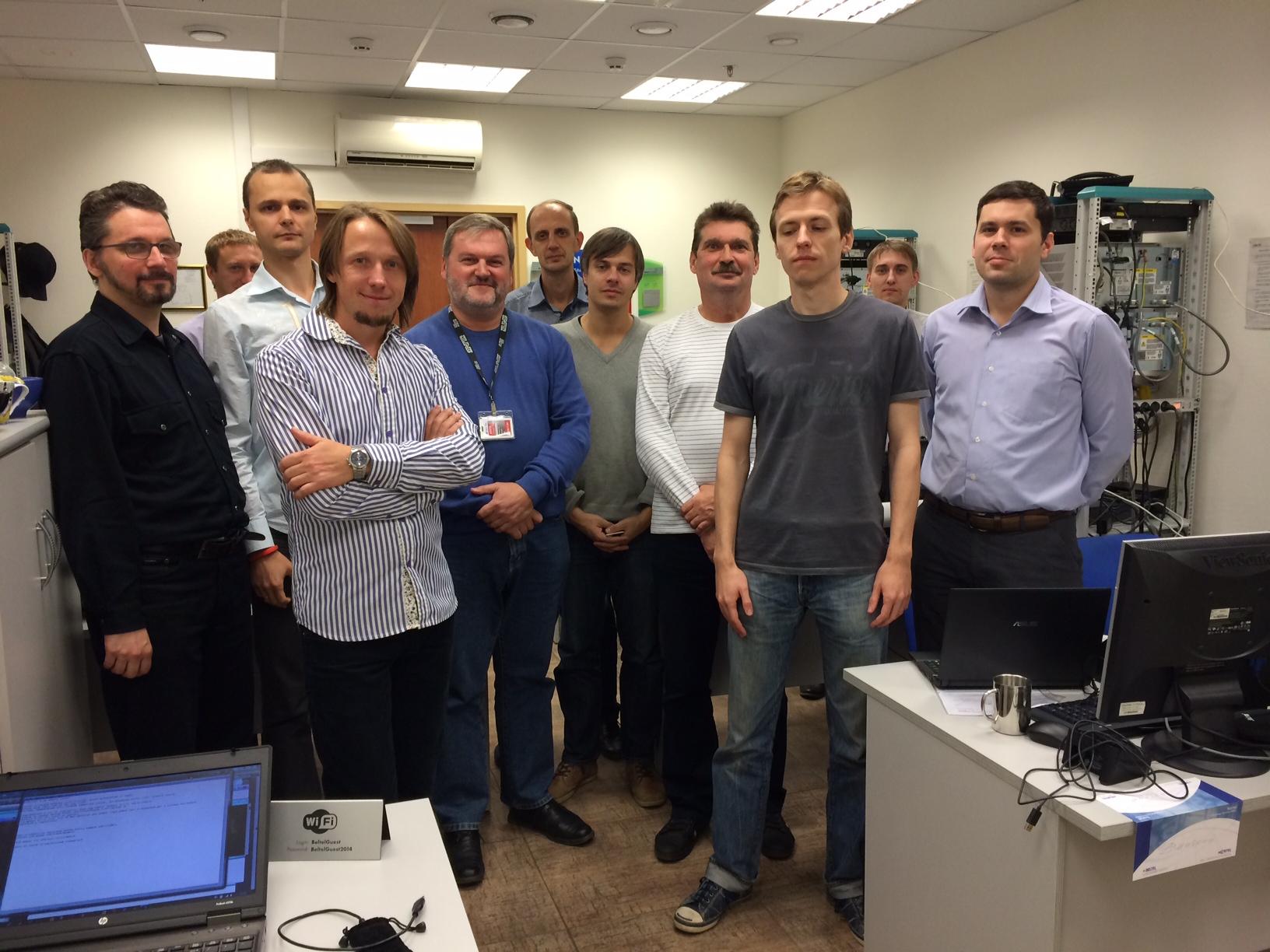 Cостоялся первый авторский курс «Интеграция Lync Server 2013 с решениями Avaya, Nortel и AudioCodes»